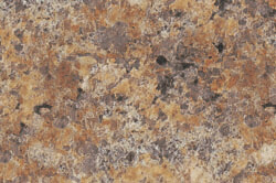 Butterum Granite - Custom cabinet color & countertops