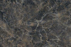 Ebony Fusion - Custom cabinet color & countertops