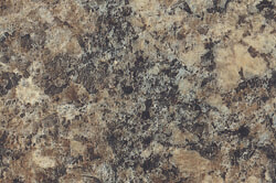 Jamocha Granite - Custom cabinet color & countertops
