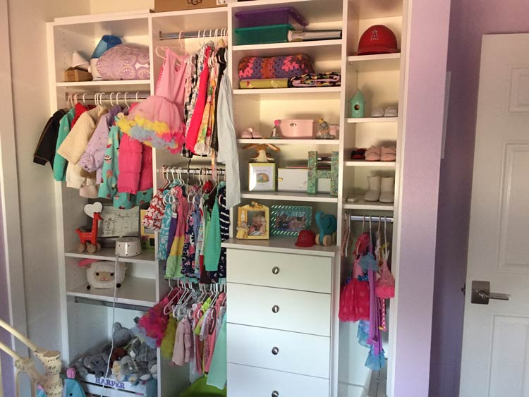 Five Tips for Clutter Free and Organized Kid's Closet