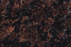 Milano Rosso - Custom cabinet color & countertops