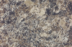 Perlato Granite - Custom cabinet color & countertops