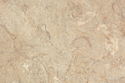 Travertine - Custom cabinet color & countertops